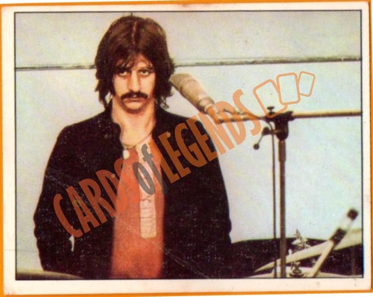 Ringo Starr 1972 Cardsoflegends