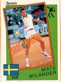 Mats Wilander 1988 Www Cardsoflegends Com